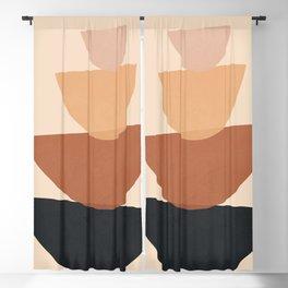 Minimal Shapes No.61 Blackout Curtain