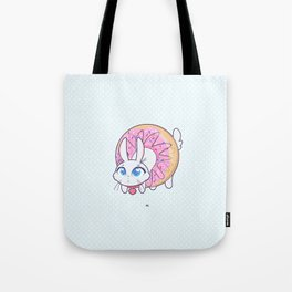 Bunnies - donut Tote Bag