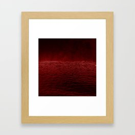 red sea Framed Art Print