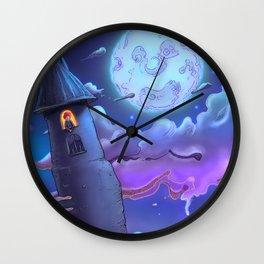 Night Music Wall Clock