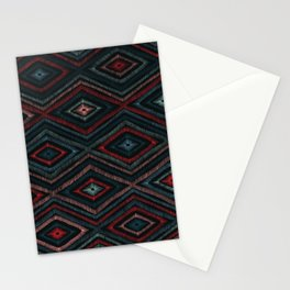 Hand Drawn Winter Pattern Stationery Cards