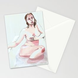 Bather 5 Stationery Cards
