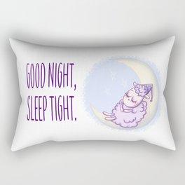 Goodnight, Sleep Tight. Rectangular Pillow