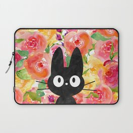 Jiji in Bloom Laptop Sleeve
