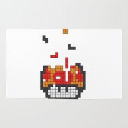 Super Mario Mushroom Tetris Rug