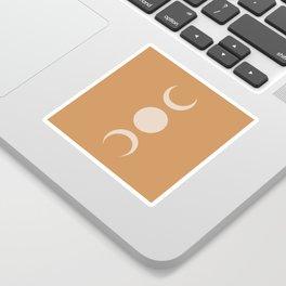 Moon Minimalism - Desert Sand Sticker