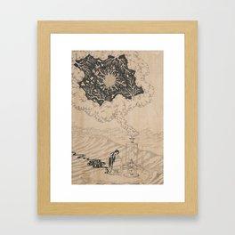 Creator Is Nobody : The Lab Framed Art Print
