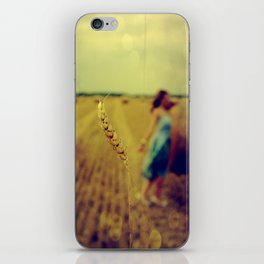 straw iPhone Skin