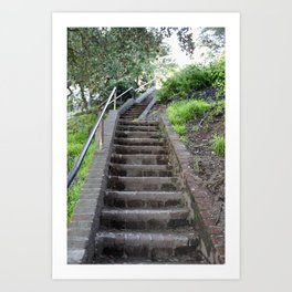 Stairs to Somewhere Art Print
