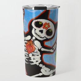 Gato de Los Muertos Travel Mug
