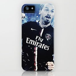 Zlatan Ibrahimovic iPhone Case
