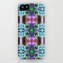 Neurotransmitted Daydreams (Pattern 2) iPhone Case