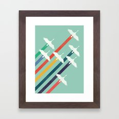 The Cranes Framed Art Print