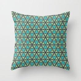 Honeycomb Pancake Pattern Throw Pillow