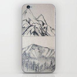 Mountain Mood iPhone Skin