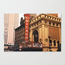 The Windy City Canvas Print