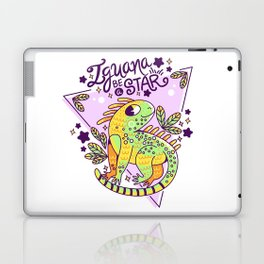 Iguana be a star Laptop & iPad Skin