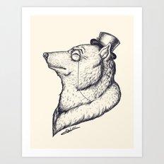 Gentlewolf Art Print