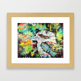 Serious Business [Kookaburra] Framed Art Print