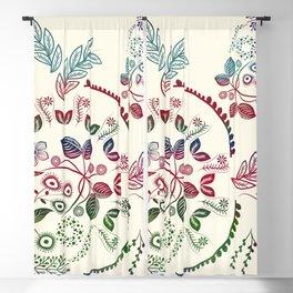 Floral Blackout Curtain