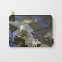 Goat Skull Carry-All Pouch