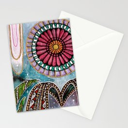 Cosmic Luster Stationery Cards
