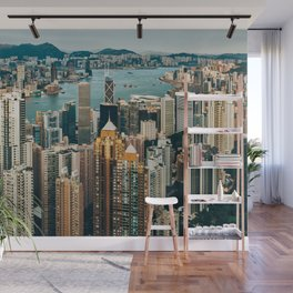 Golden Harbour Wall Mural