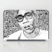 childish gambino iPad Cases featuring Gambino by Seth Beukes
