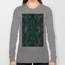 Blue-n-Black Long Sleeve T-shirt