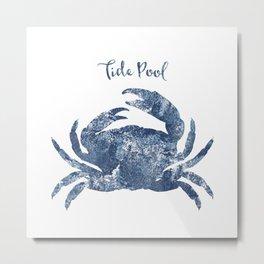 Crab Tide Pool habitat Metal Print