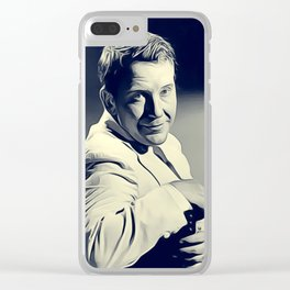 Burgess Meredith, Vintage Actor Clear iPhone Case