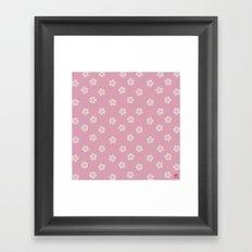 Pattern #4 Framed Art Print