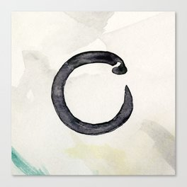 Enso 1 by Kathy Morton Stanion Canvas Print