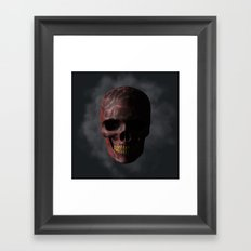 Organic Skull 01 Framed Art Print