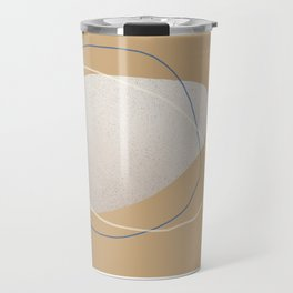 Abstraction_SUN_ROCK_LINE_YOGA_POP_ART_M1001 Travel Mug
