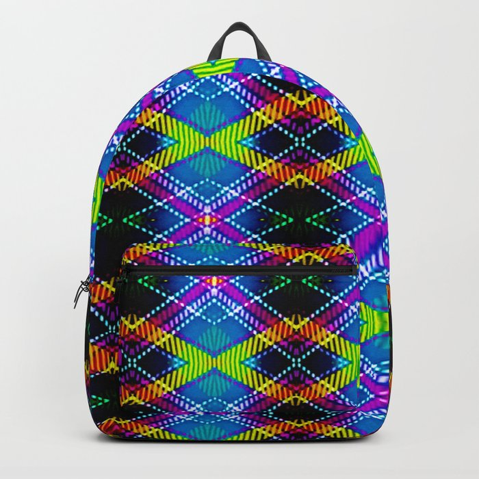 SBS Plaid Backpack