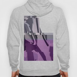 Abstract Glitch 01 Hoody