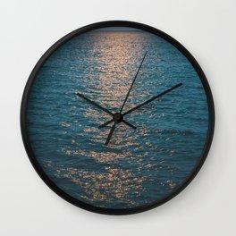 Moonlight Lake Wall Clock