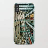 vancouver iPhone & iPod Cases featuring Vancouver Library by Anthony M. Davis