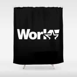 Work Shower Curtain