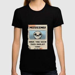 Isaac Missing Poster T-shirt