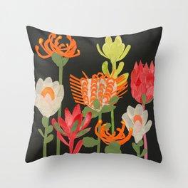 Australian Native Beauties Throw Pillow