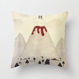 Fall With Me Throw Pillow