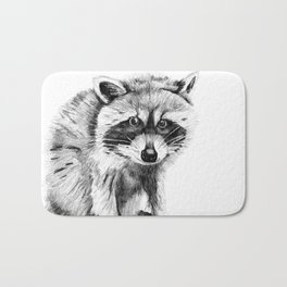 Raccoon Bath Mat