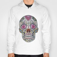mexican Hoodies featuring Mexican Skull by DΔZΞD.