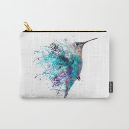 HUMMING BIRD SPLASH Carry-All Pouch