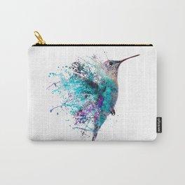 HUMMING BIRD SPLASH Carry-All Pouch