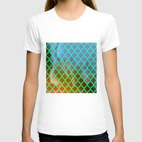 moroccan T-shirts featuring Moroccan Green by Mr and Mrs Quirynen