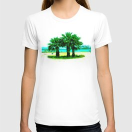 Tropical Tree Trio T-shirt