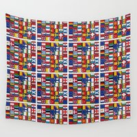 europe Wall Tapestries featuring Europe/Europa by MehrFarbeimLeben